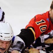 Former enforcer joins NHL team's front office.