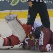 MUST SEE: Shortest player in history tries to throw heavy punches at goalie!