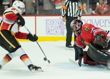 Report: Flames qualify nine pending RFA's
