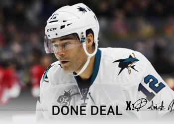 Breaking : Patrick Marleau is moving to a new team!