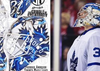 Must See: Leafs' Andersen goes old school with his new mask