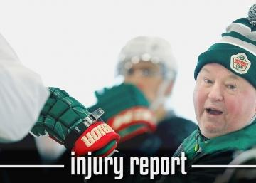 Injury Report : Bruce Boudreau gives an important update on Parise's injury.