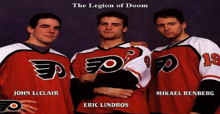 Flyers look back: The Legion of Doom dominates.
