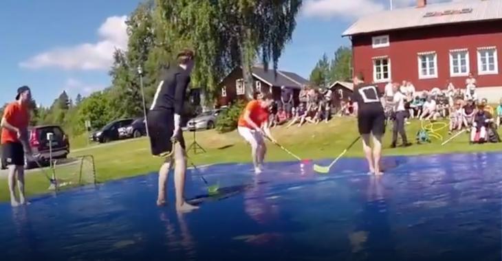 Must See: Soap Hockey looks INSANE