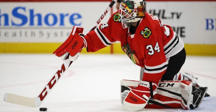 Blackhawks assign veteran goaltender to the AHL