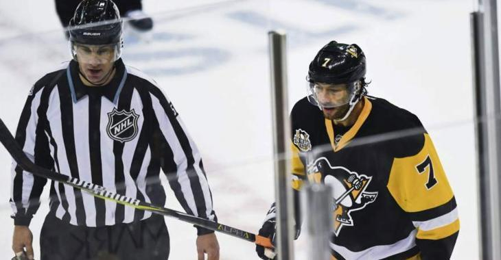 "NHL makes Pens' Cullen pay for his ""dangerous trip"""