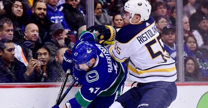 Report: Canucks and Sabres negotiating trade