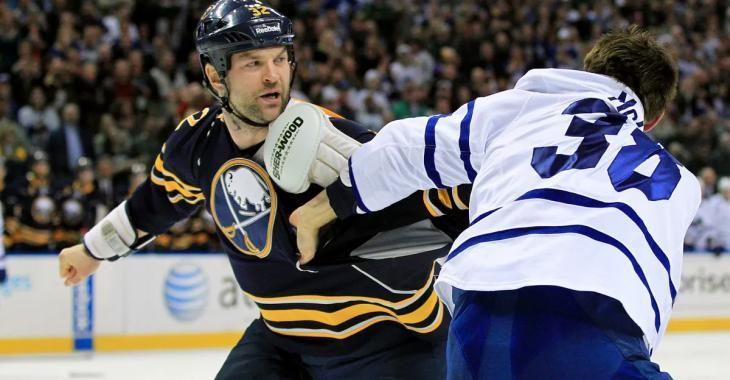 John Scott claims he choked out teammate unconscious in Sabres' locker room