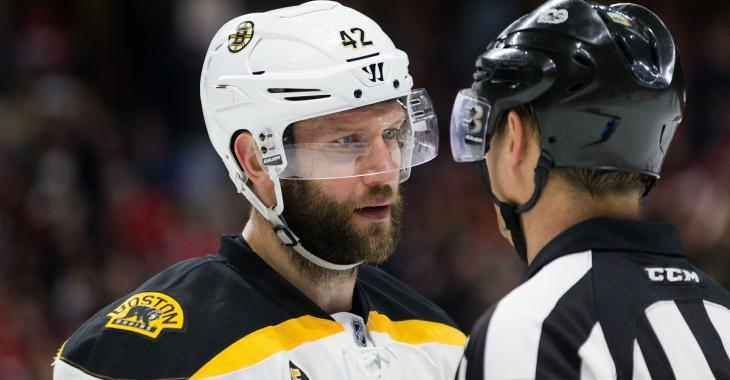 Rumor: Bruins in talks with rival team for trade involving David Backes.