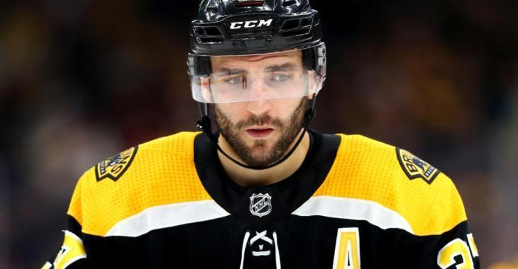Patrice Bergeron expected to bust the Perfection Line next season
