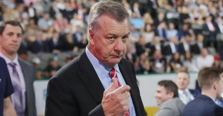 Breaking: Don Waddell has signed a new contract, but not with the Minnesota Wild.