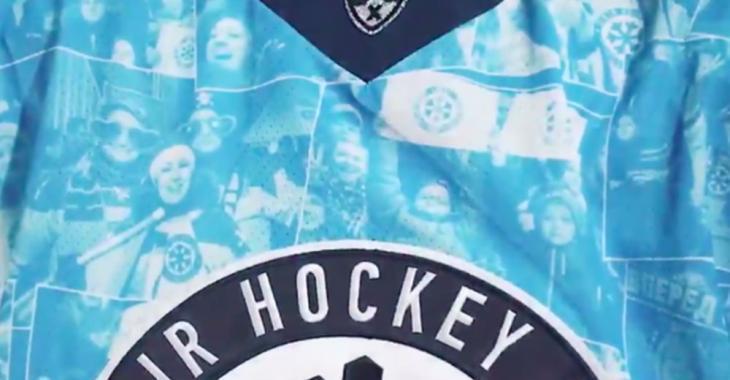 Team unveils new jerseys that feature fan selfies