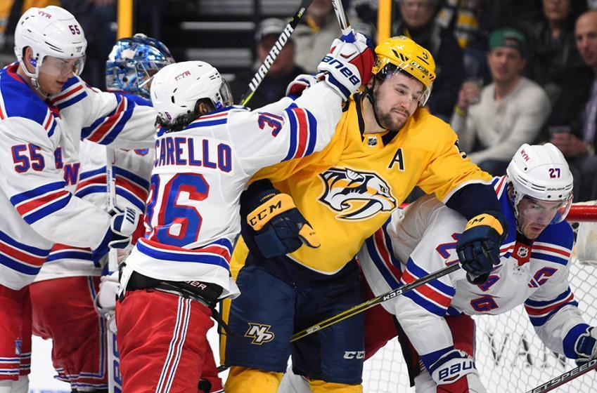 Breaking: NHL suspends Predators forward Forsberg