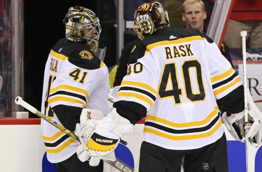 Bruins' Halak steals another start from Rask!