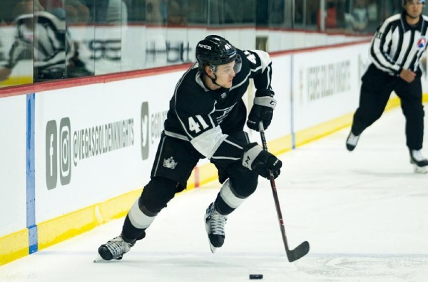 Kings send rookie back down to minors