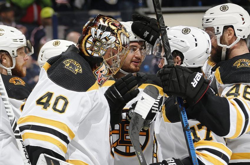 Breaking: Bruins veteran missing from practice on Saturday.