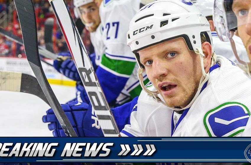 Breaking: Canucks forward injured