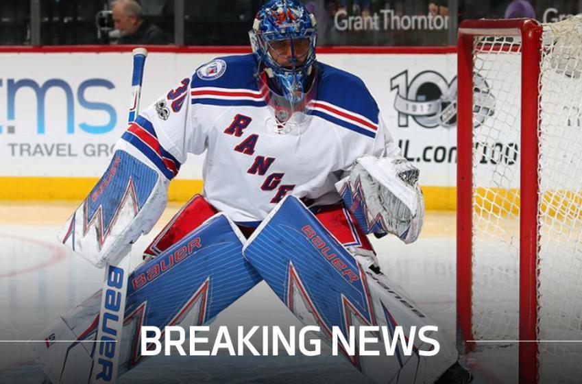 Breaking: Bad news for Henrik Lundqvist
