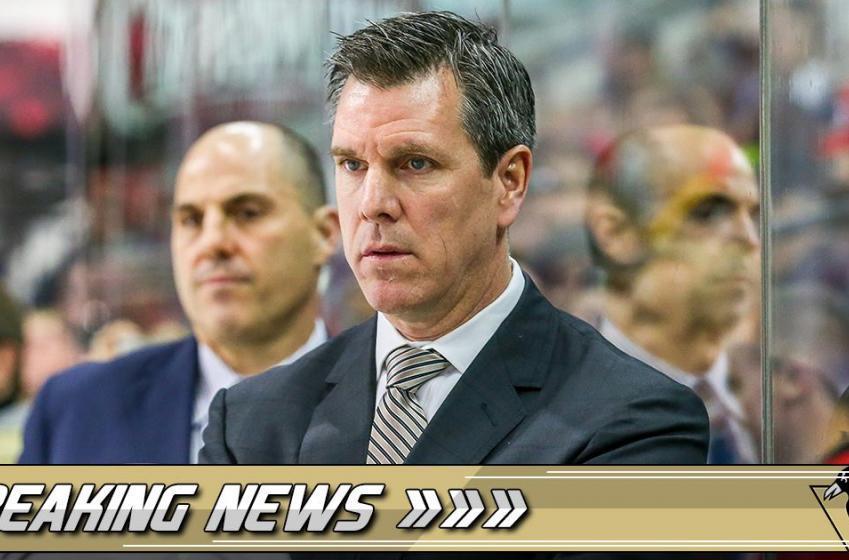 Sullivan confirms Hornqvist is injured.... again.