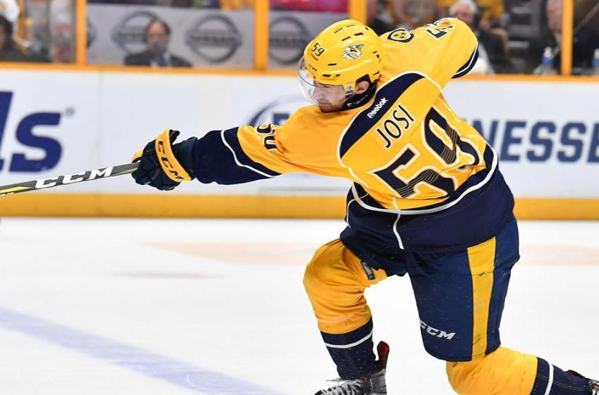 Injury Update: Josi back on the ice