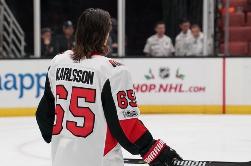 Report: Karlsson breaks silence on trade rumors
