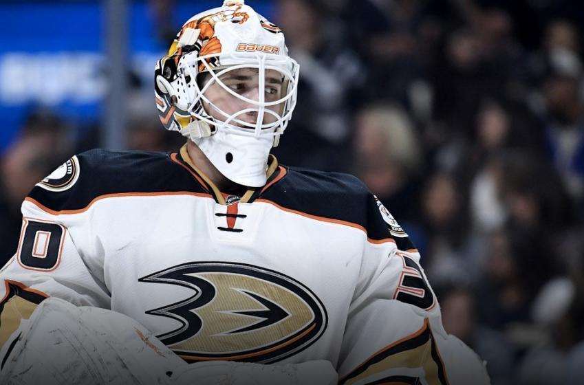 Breaking: Ducks place goalie on waivers