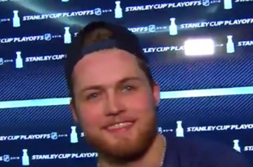 """Nylander focused on """"playing simple"""" in Bruins series"""