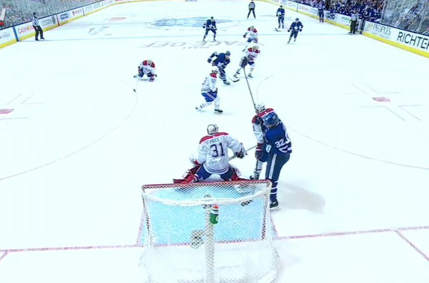 John Tavares scores his first goal as a Toronto Maple Leaf