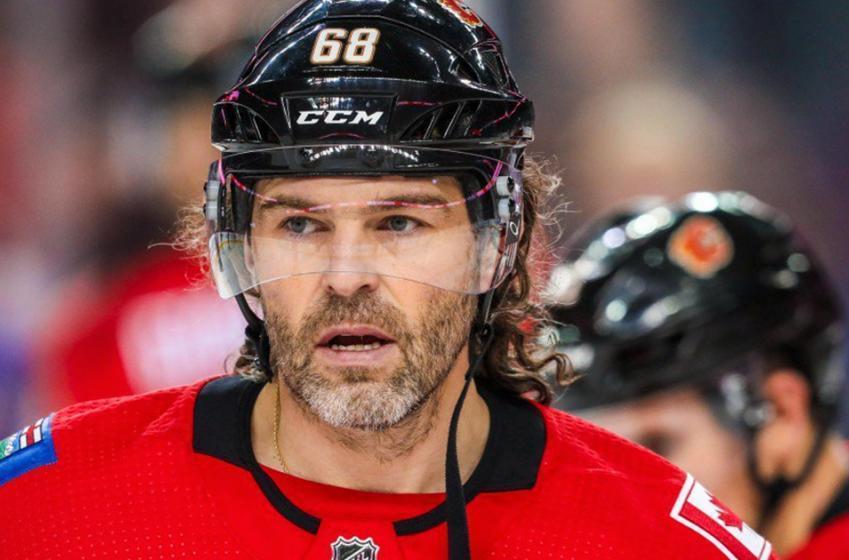Report: Jagr done in Calgary