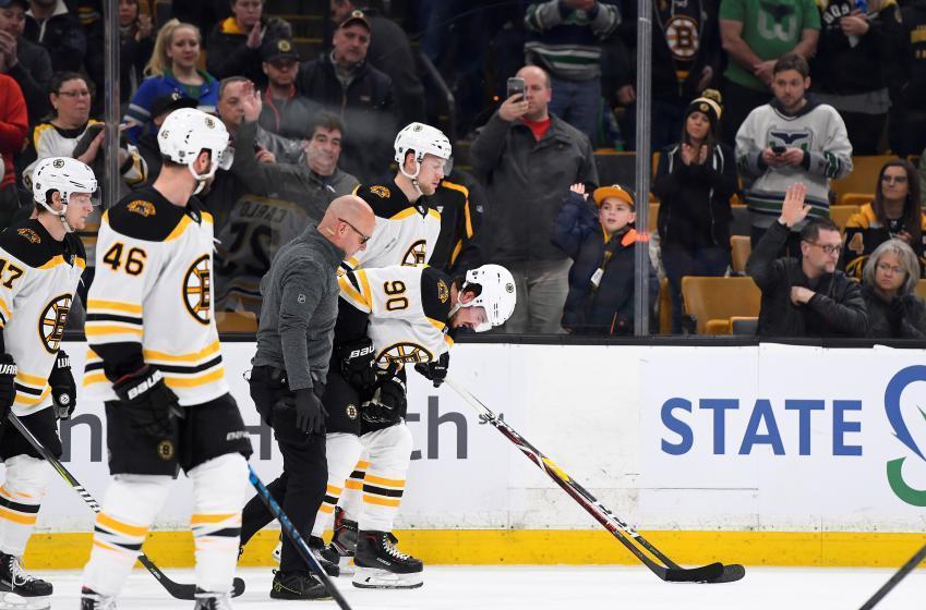 Breaking: Bruins forward missing from pregame warmups.
