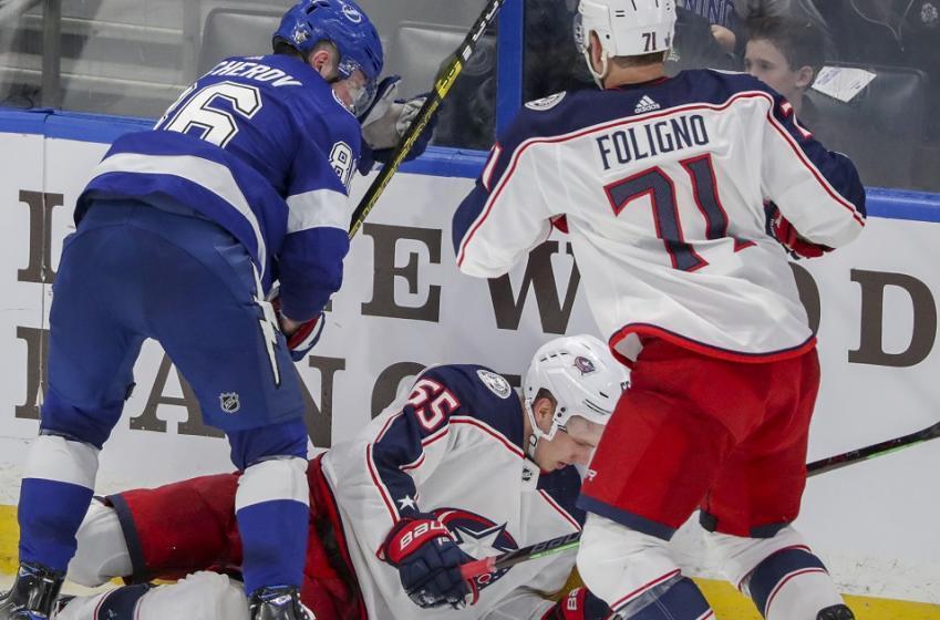 Breaking: Nikita Kucherov has been suspended by the NHL.