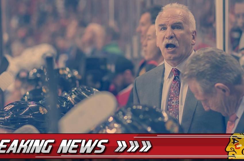 Breaking: Blackhawks make a big change to the lineup