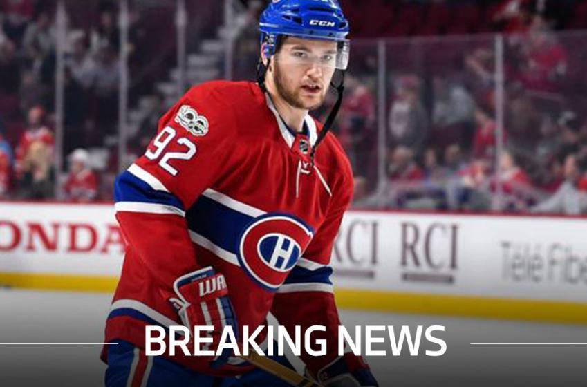 Breaking: Huge update on Jonathan Drouin's injury