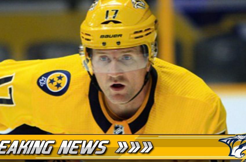 Breaking: The worst is confirmed for Scott Hartnell