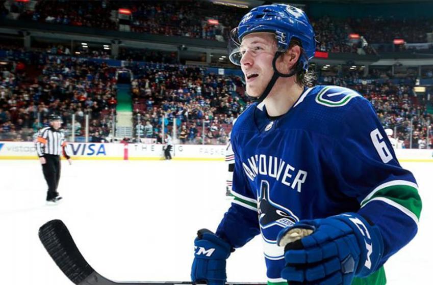 Breaking: Canucks' Boeser receives top honour from NHL