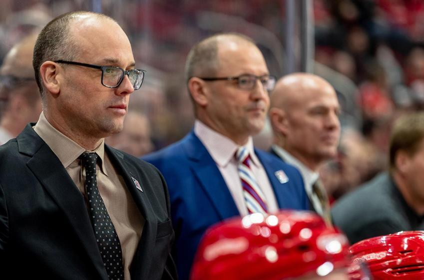 Breaking: Red Wings officially extend head coach Jeff Blashill