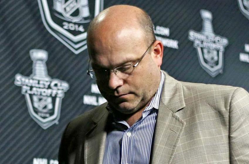 NHL GM denies reports that his team is hiring Peter Chiarelli