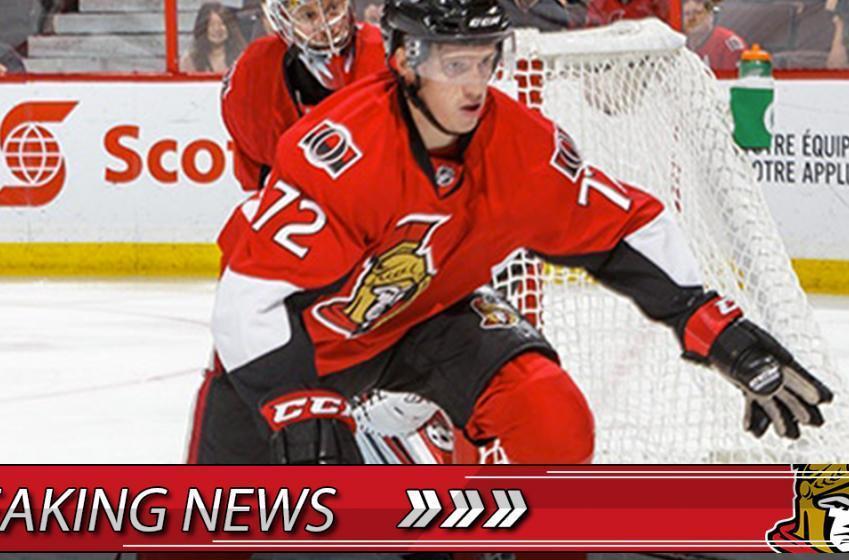Breaking: Sens call up top prospect!