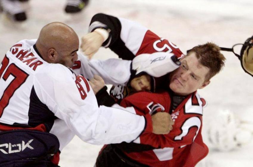 Former NHL enforcer Donald Brashear arrested
