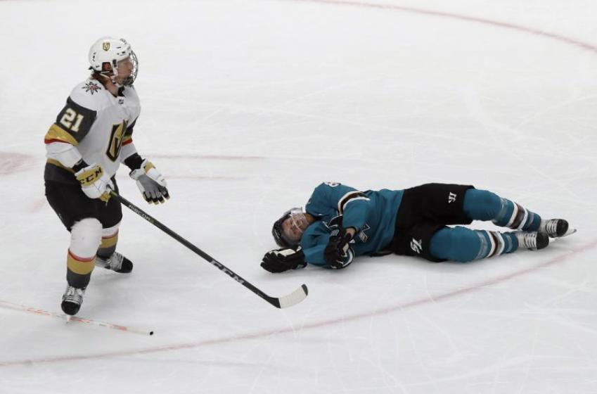Sharks make surprising decision on Pavelski for Game 7 on Wednesday