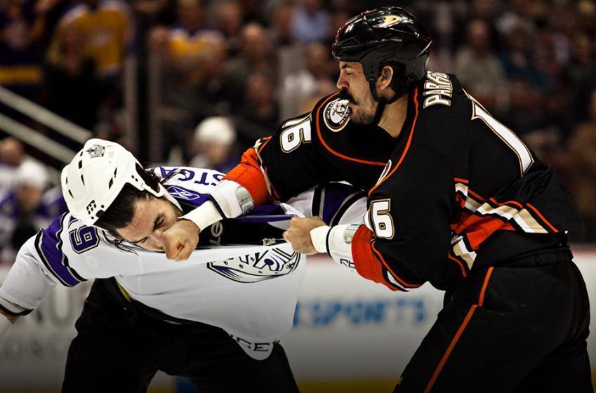 Breaking: Legendary Ducks enforcer Parros named head of NHL Player Safety