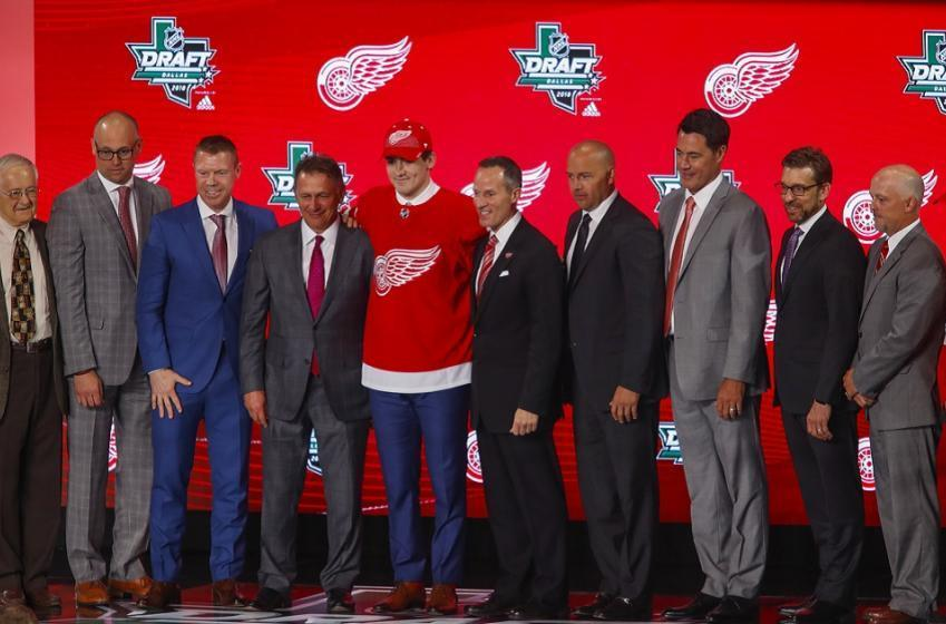 Red Wings rookie finally set to make his long anticipated debut.