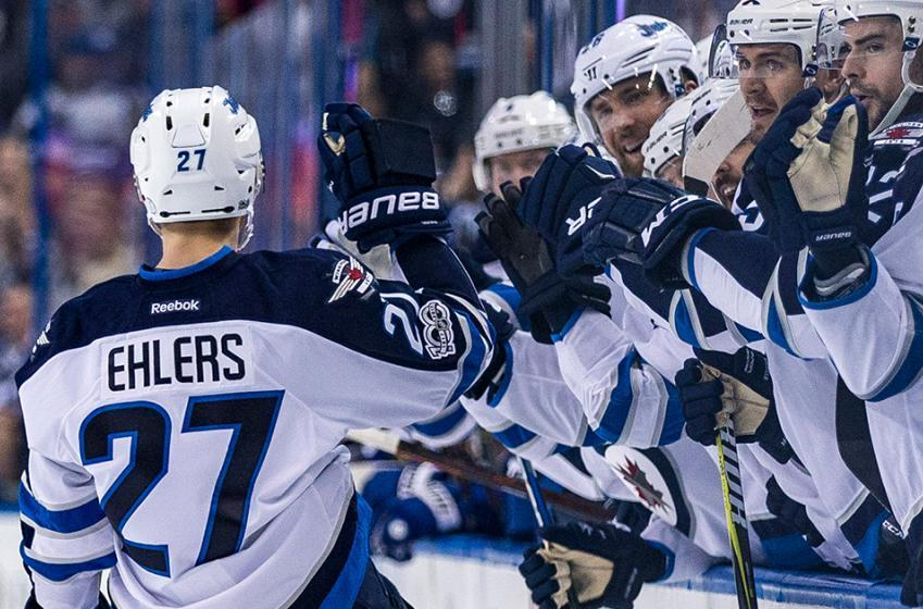 Breaking: Ehlers named NHL's 1st Star