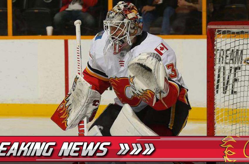 Breaking: Flames assign veteran goaltender to the AHL