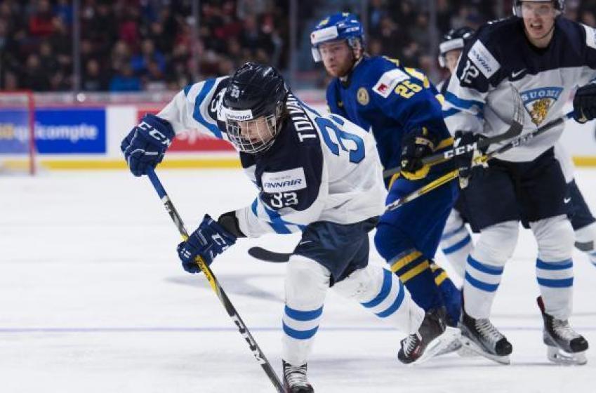 Preds' Tolvanen breaks Canada's heart!