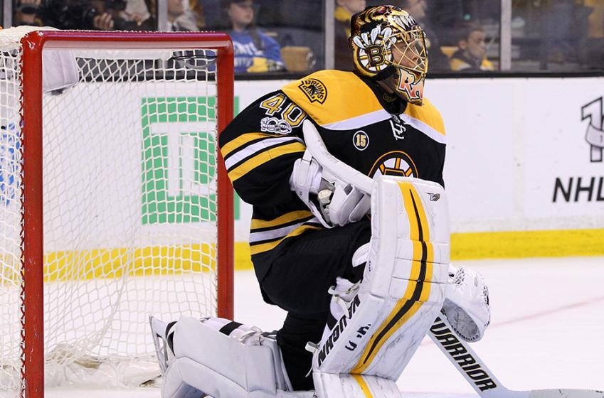 Report: Rask addresses goalie controversy in Boston