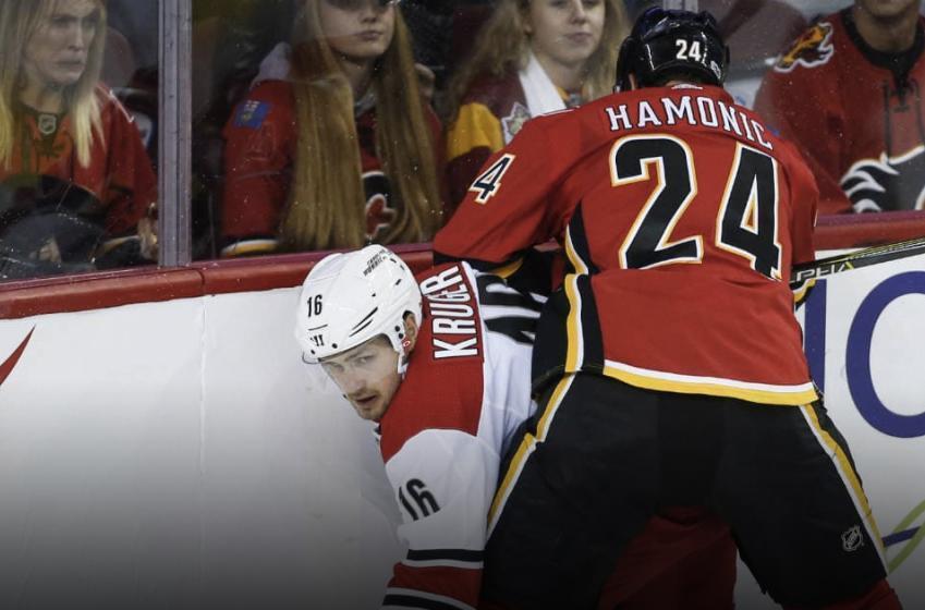 Breaking: Flames lose Hamonic's services