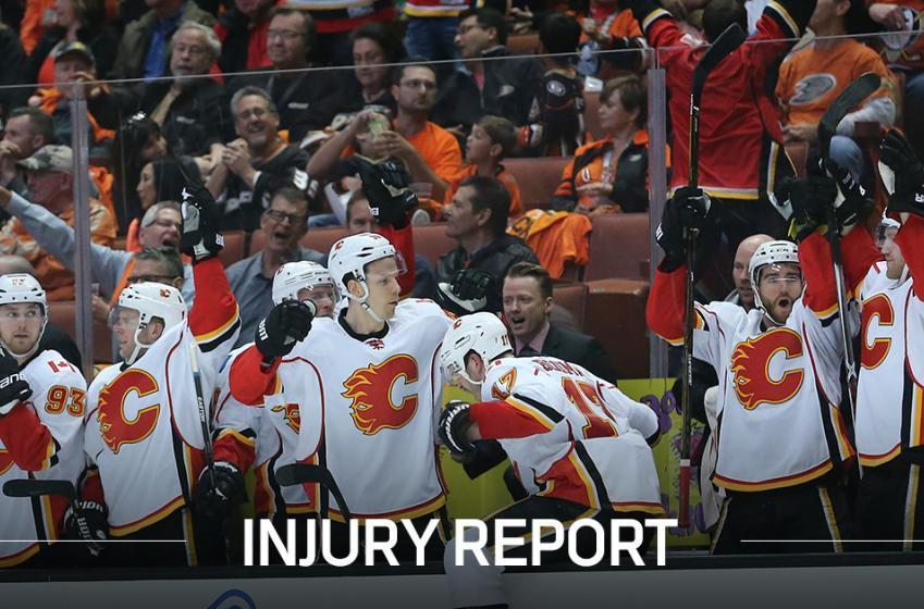 Report: Key Flames defenseman injured