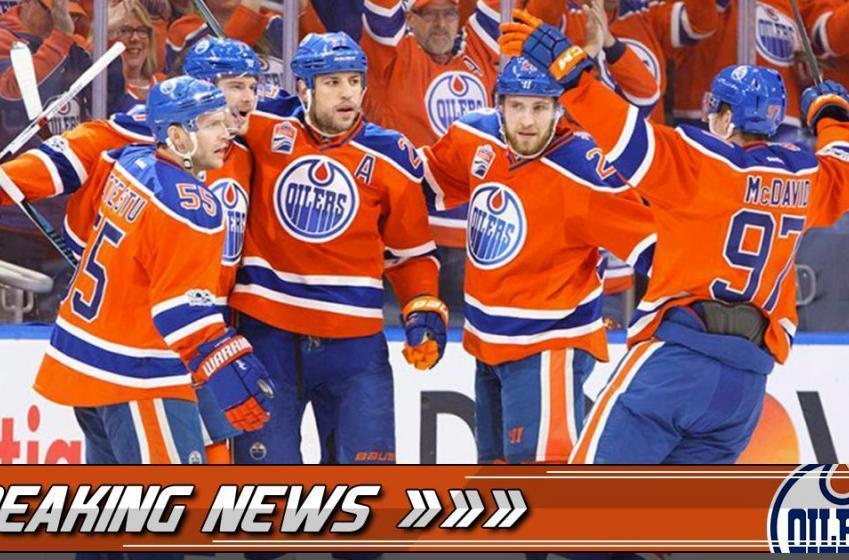Breaking: Oilers forward status updated!