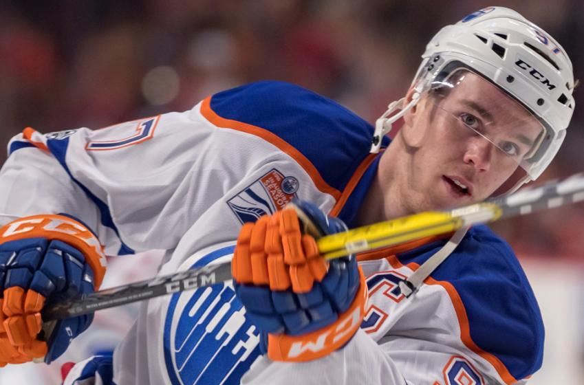 Report: McLellan juggles lines, moves McDavid to the wing